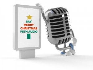 Christmas Audio e-card