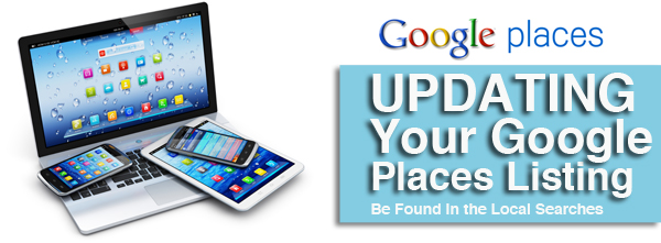 Updating your Google Places Listing
